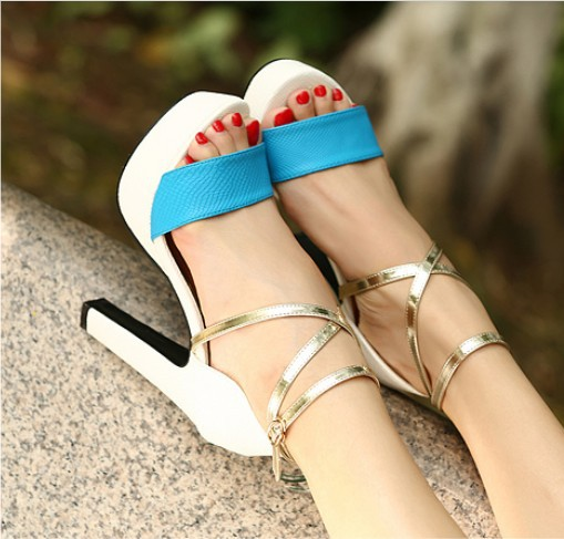 European-and-American-style-fashion-sexy-foot-ring-strap-sandals-free-shipping