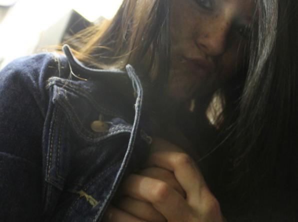 Selfie amatoriali ragazza italiana