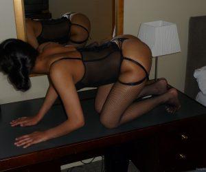 Anita una calda pantera nera1