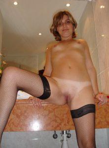 giovane amatoriale casalinga